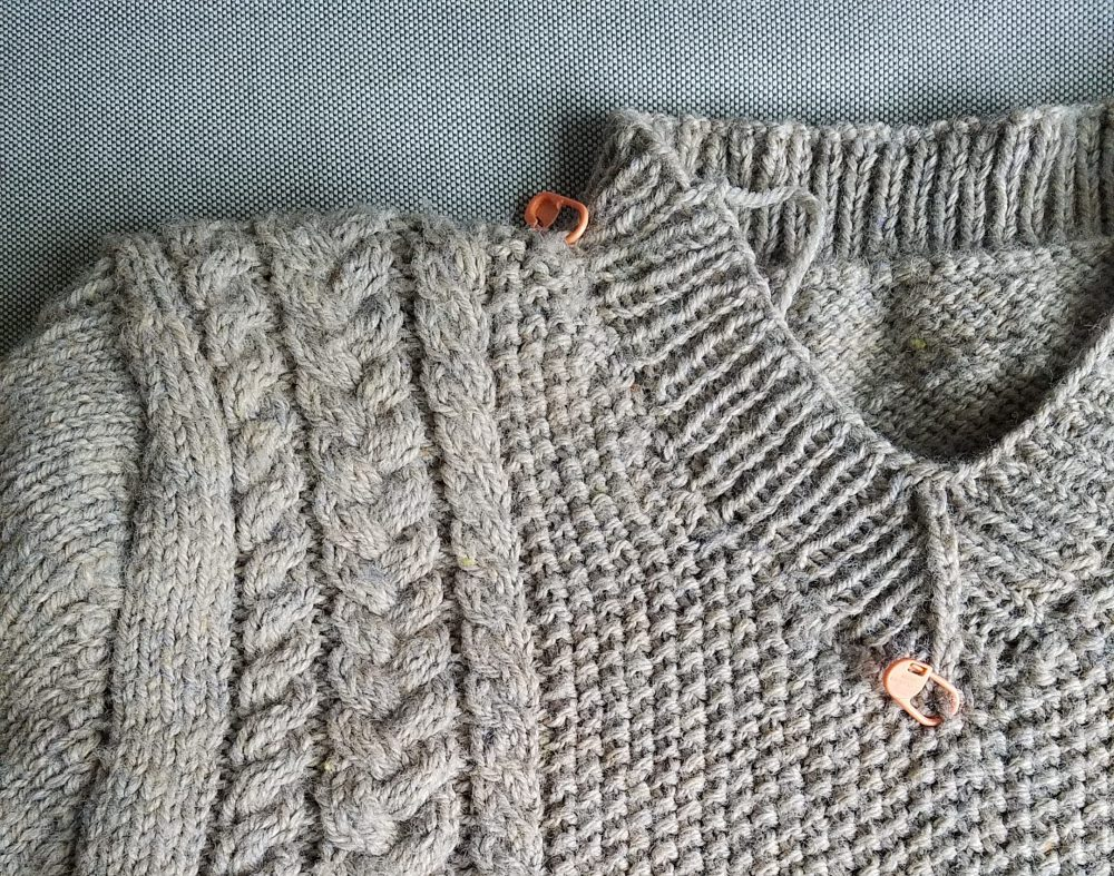 Knitting – I'm… Right Now